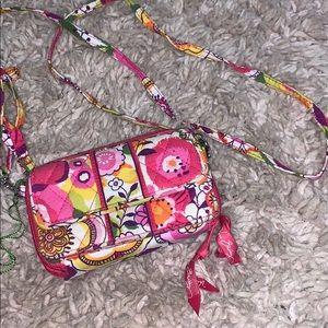 A small Vera Bradley purse
